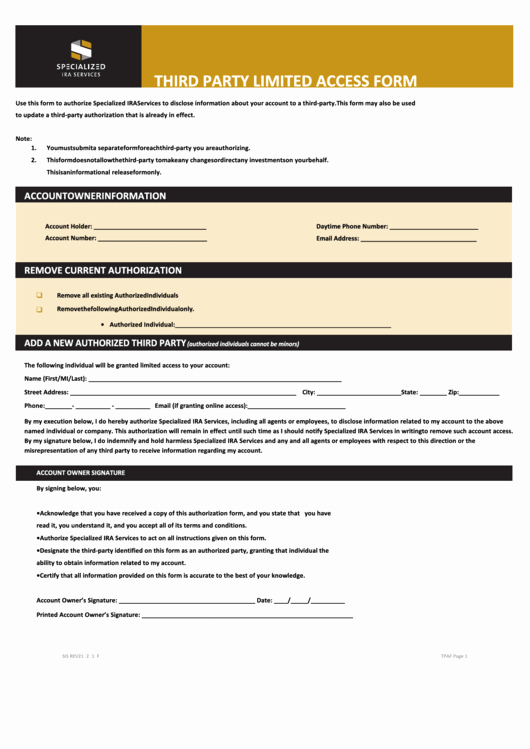 3rd Party Authorization form Template Beautiful top 5 Third Party Authorization form Templates Free to