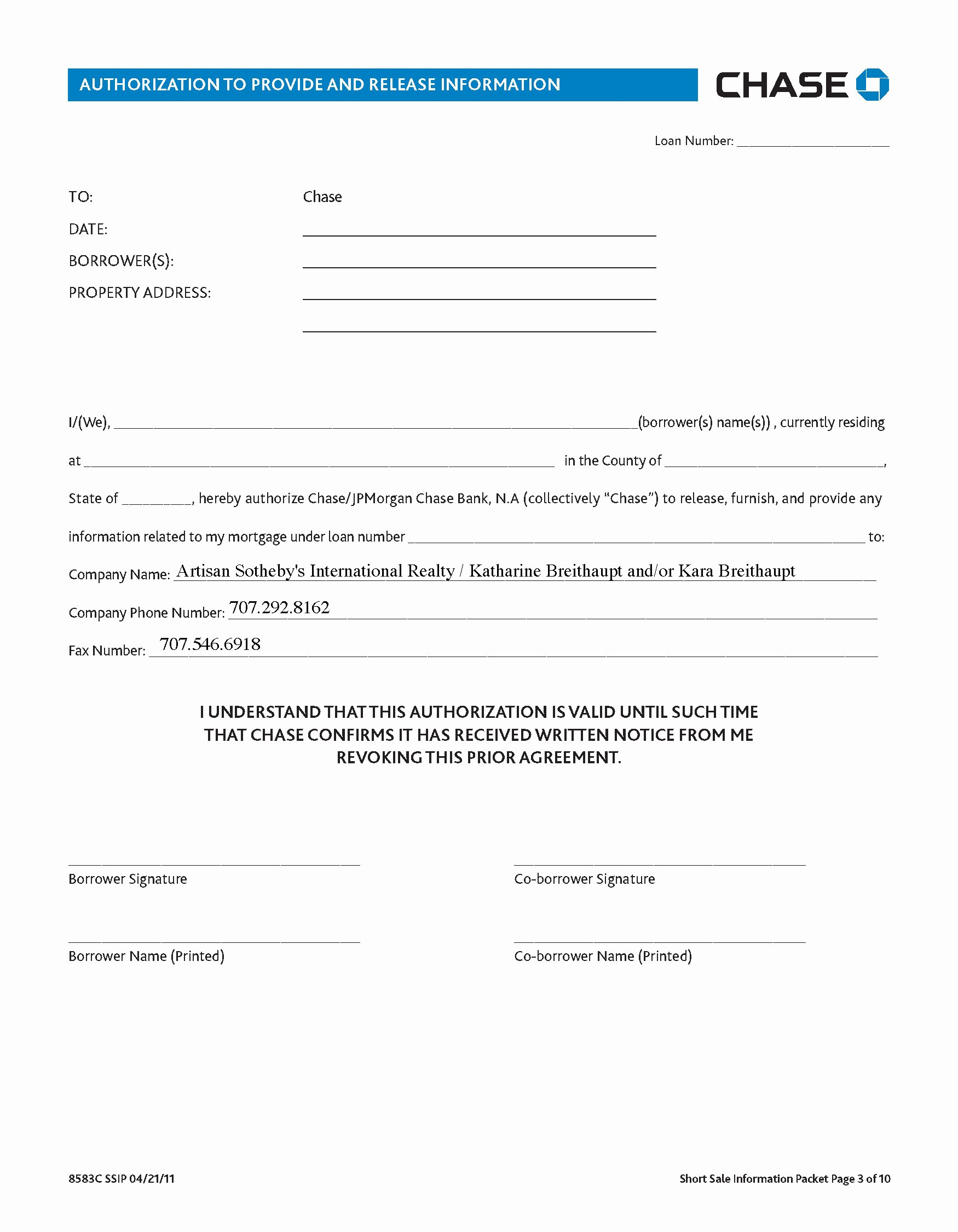 3rd Party Authorization form Template Best Of Templates—3rd Party Authorization