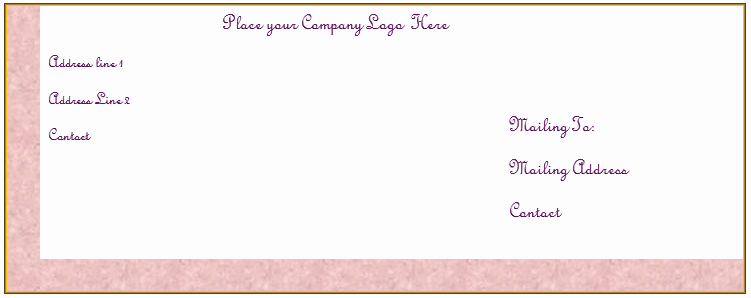 5x7 Envelope Template Word Fresh Create Your Own Free Envelope Template In Microsoft Word