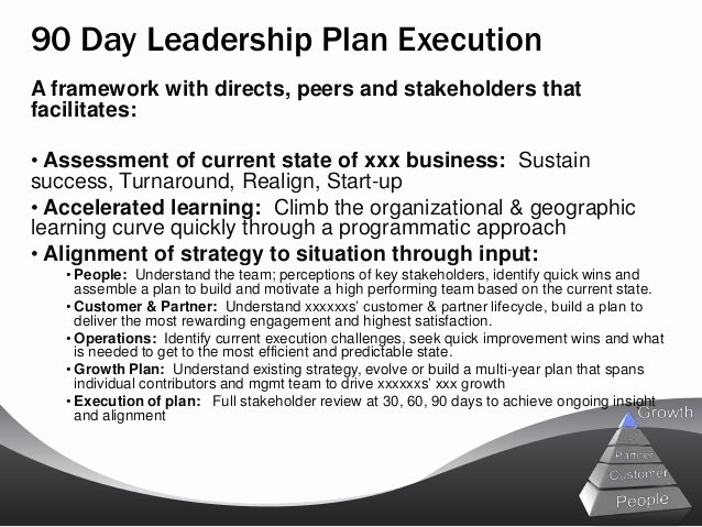 90 Day Action Plan Templates Fresh 5 90 Day Plan for New Managers Examples Pdf