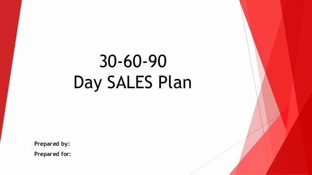 90 Day Action Plan Templates Lovely 30 60 90 Day Sales Action Plan