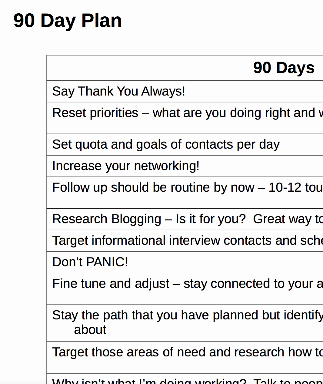90 Day Action Plan Templates New 90 Day Action Plan Template 2