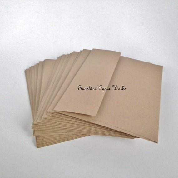 A2 Envelope Template Word Luxury Kraft A2 Envelopes 25 Ct 4 375 X 5 75 Inches 70