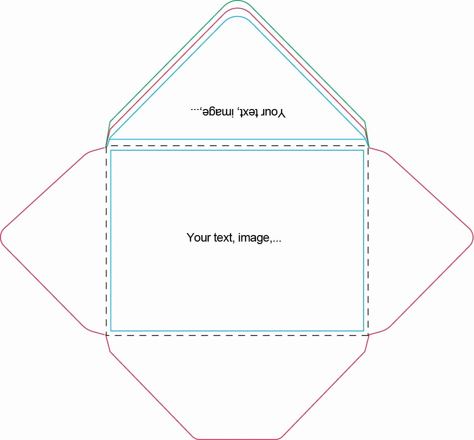 A7 Envelope Liner Template Fresh A7 Envelope Template
