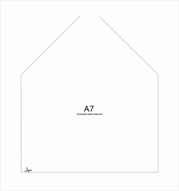 A7 Envelope Template Word Awesome A7 Envelope Template Word