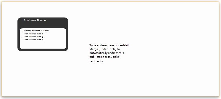A7 Envelope Template Word Beautiful 40 Editable Envelope Templates for Ms Word