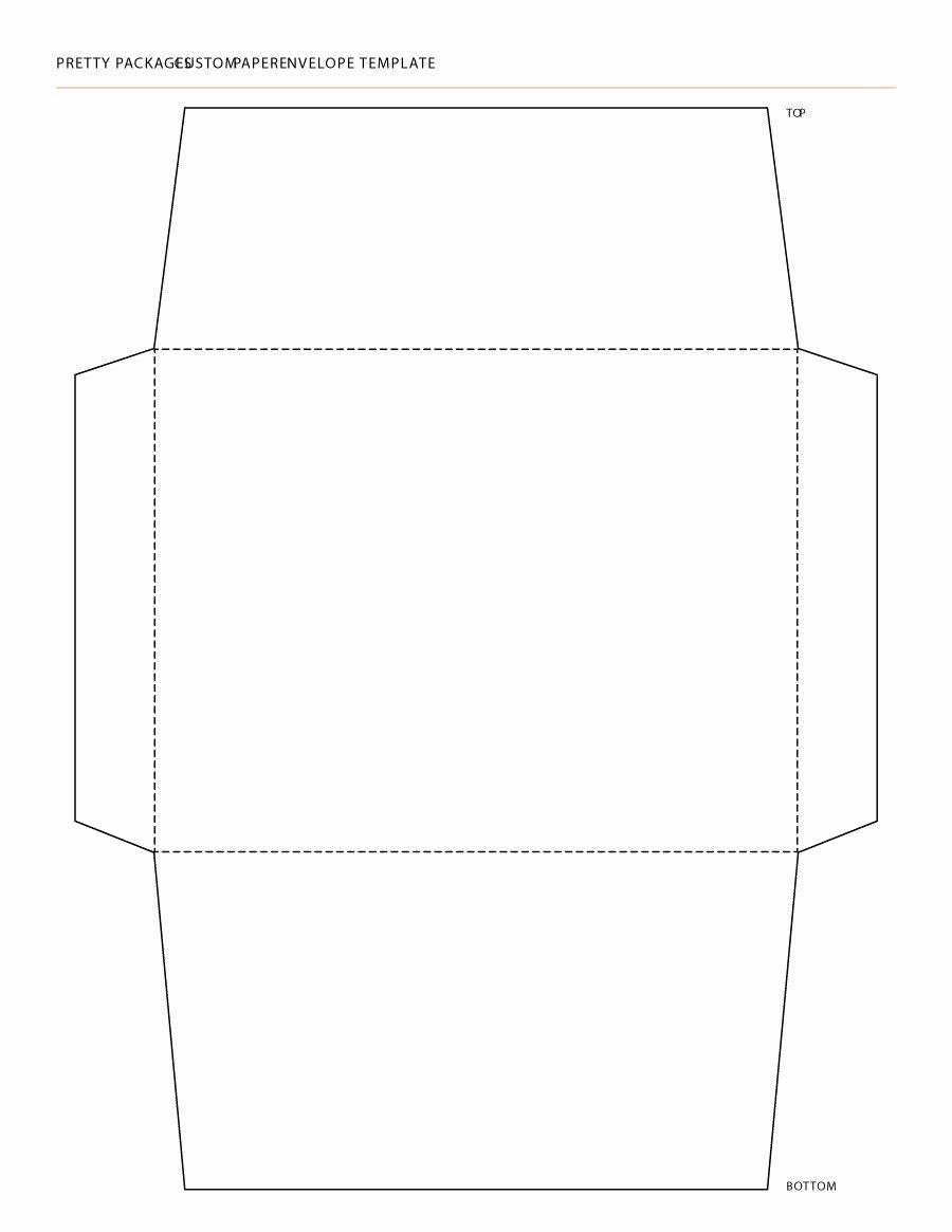 A7 Envelope Template Word Beautiful Envelope Template Pdf Printable A7 Envelope Template Free
