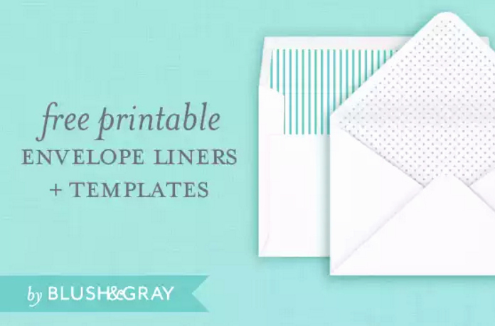 A7 Envelope Template Word Elegant 4 Free Printable A7 Envelope Templates
