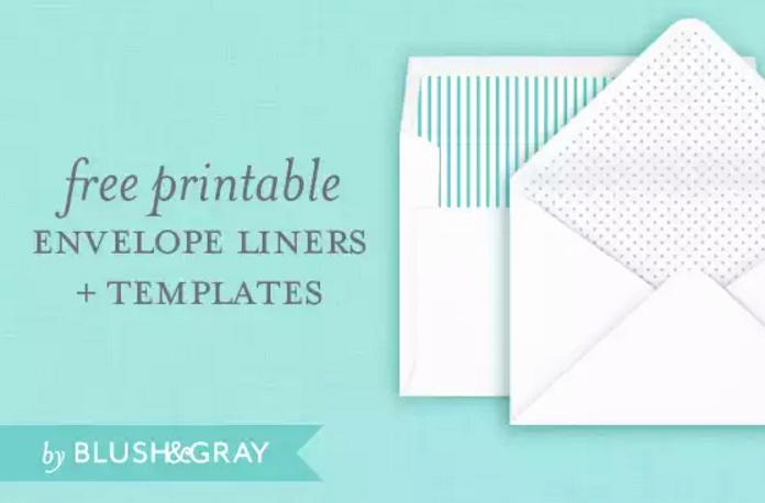 A7 Envelope Template Word Elegant 4 Free Printable A7 Envelope Templates