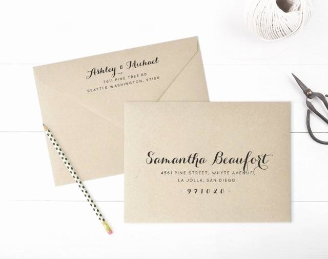A7 Envelope Template Word Fresh Printable Envelope Address Template Wedding Envelope