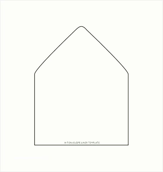 A7 Envelope Template Word Lovely A6 Envelope Liner Template Besttemplatess123