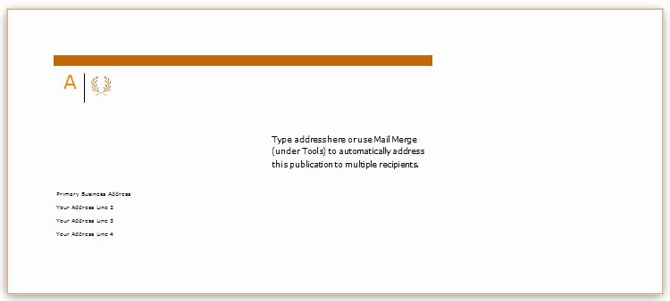 A7 Envelope Template Word New 40 Editable Envelope Templates for Ms Word