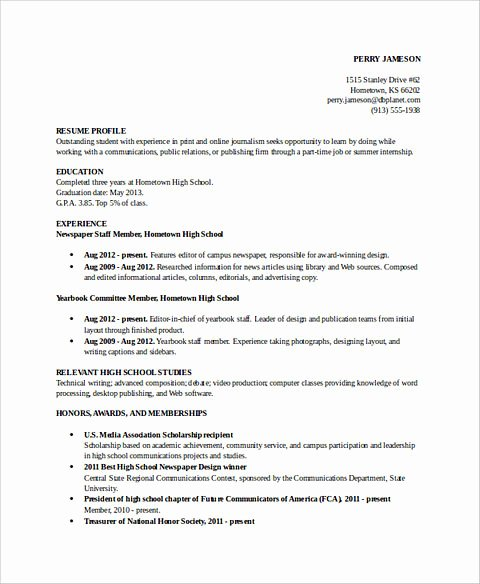 Academic Cv Template Word Awesome Excellent Academic Resume Template to Get Job