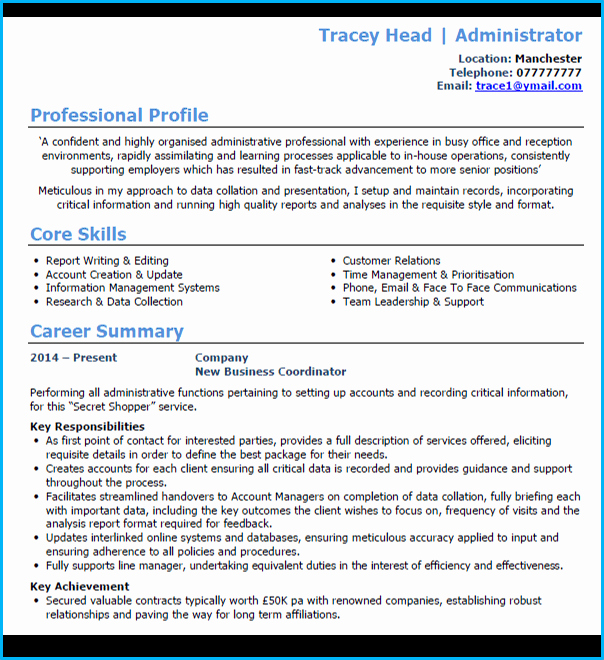 Academic Cv Template Word Best Of 6 Cv Uk format Examples Learn How to Create A Winning Cv