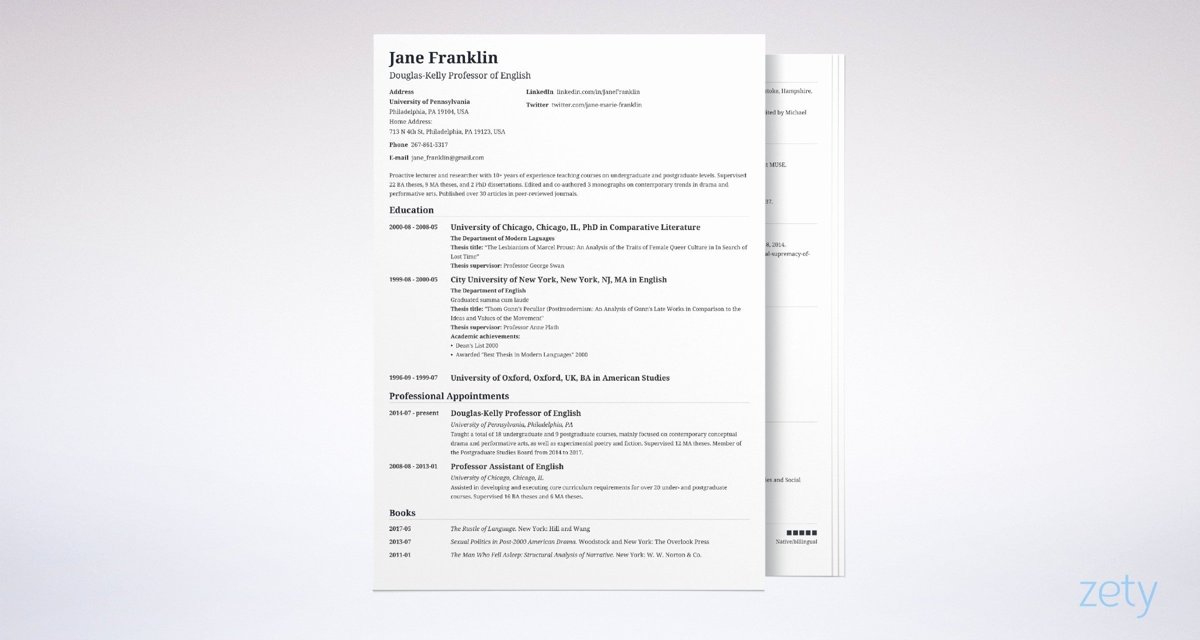 Academic Cv Template Word Fresh Cv Vs Resume Difference Definitions & when to Use which