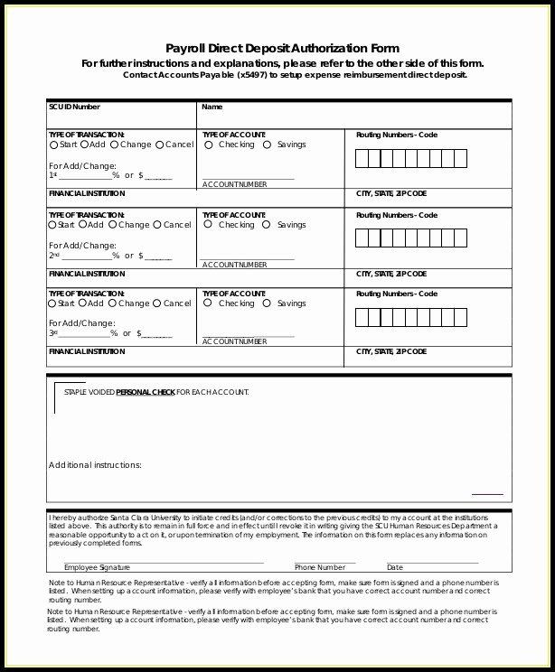 Ach Deposit Authorization form Template Best Of Vendor Ach Authorization form Template Templates 1