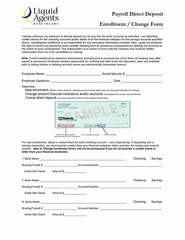 Ach Deposit Authorization form Template Inspirational Ach Deposit Authorization form Template Templates
