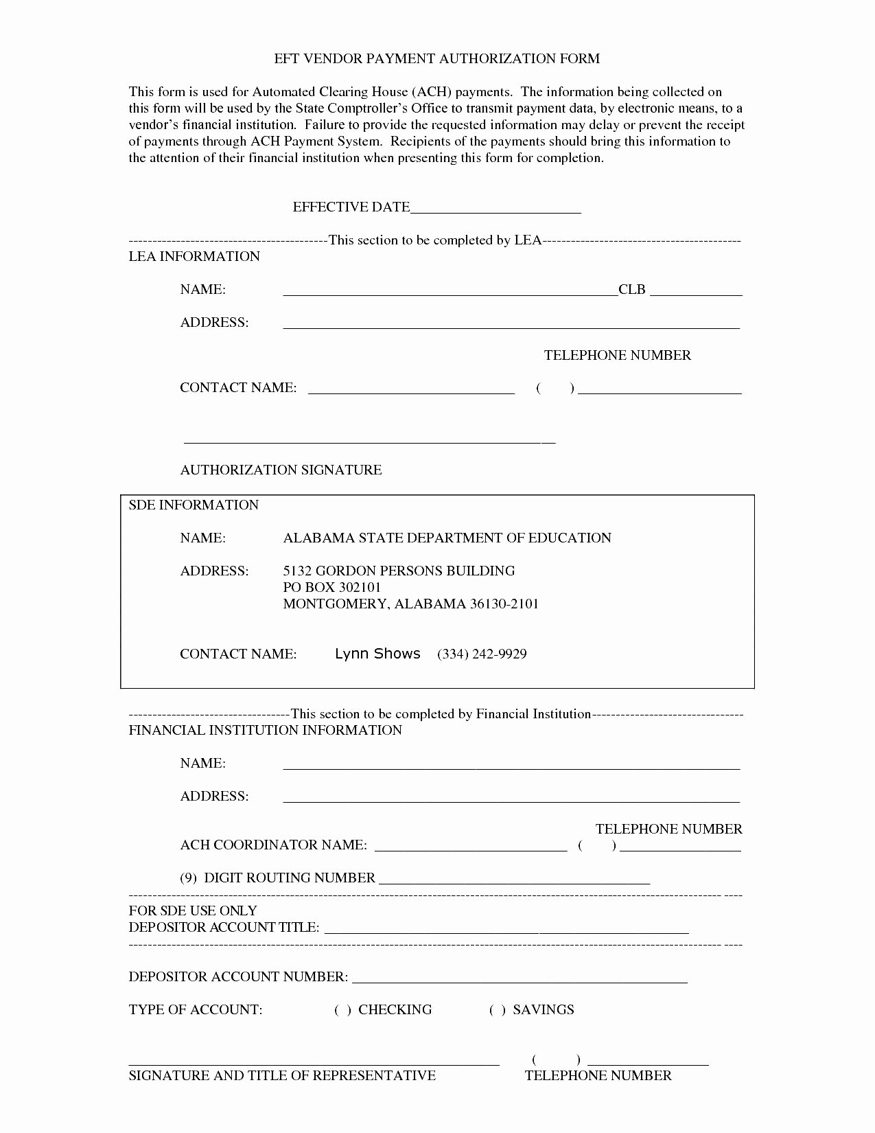 Ach Deposit Authorization form Template Luxury 27 Of Payment Approval form Template