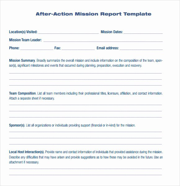 After Action Report Template Luxury Best S Of Workplace Accident Report form Work
