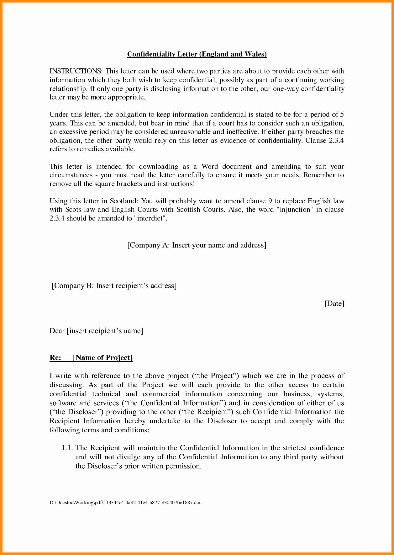 Agreement Template Between Two Parties Best Of Agreement Letter Between Two Parties
