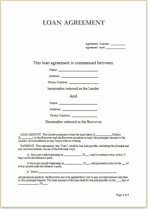 Agreement Template Between Two Parties Inspirational Personal Loans for Students Uk Trustpilot Backing the