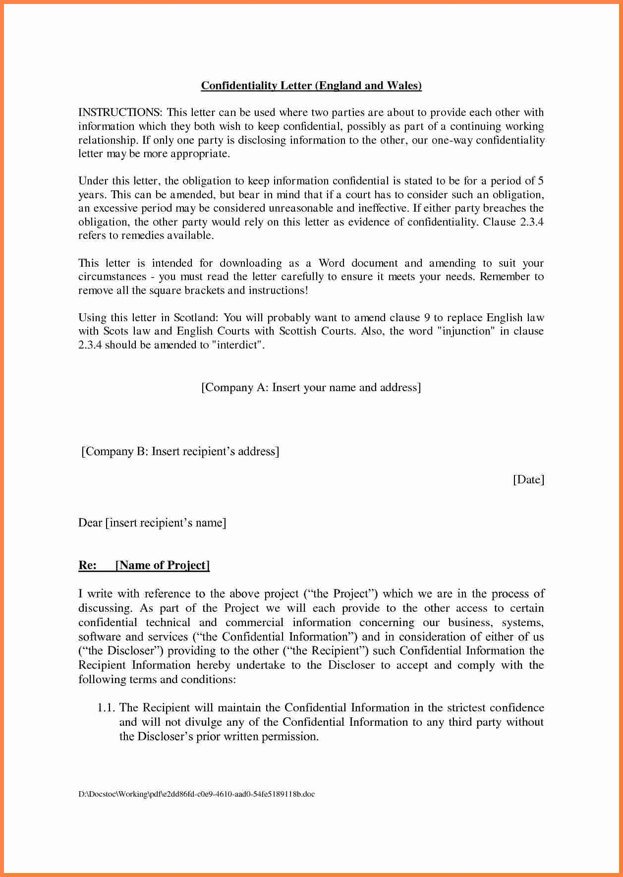 Agreement Template Between Two Parties Unique 6 Template Of Agreement Between Two Parties