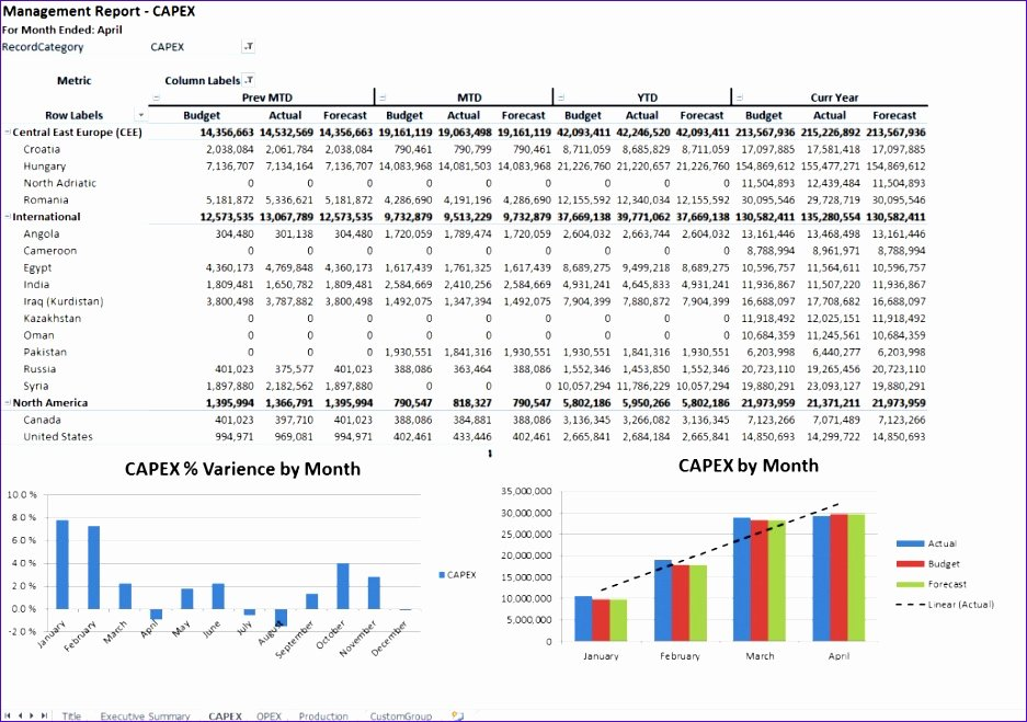 Annual Operating Budget Template Beautiful 12 Operating Bud Template Excel Exceltemplates