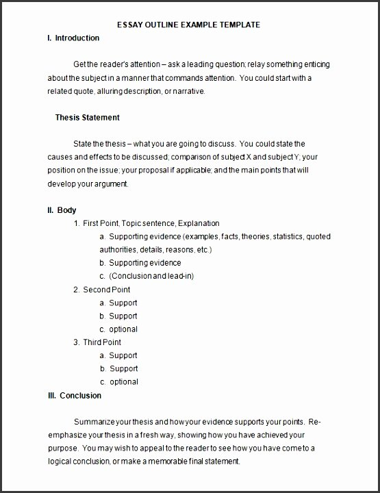 Apa Outline format Template Best Of 7 Outline Template In Ms Word for Free Sampletemplatess