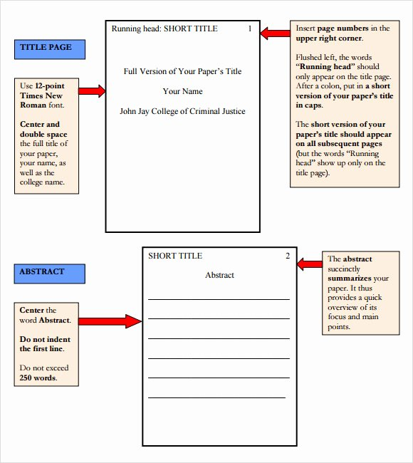 paper outline template