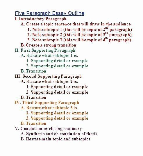 Apa Research Paper Outline Template Lovely Research Paper Outline Template