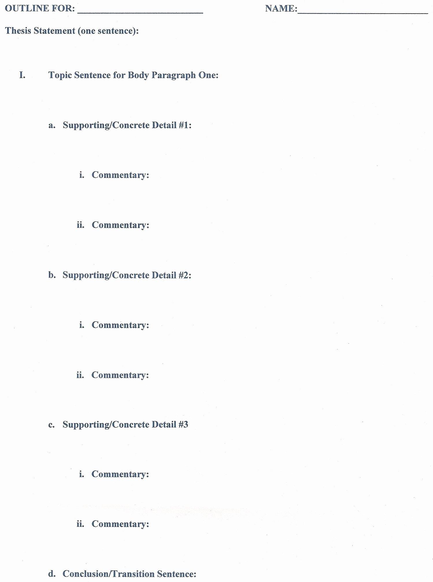 Apa Research Paper Outline Template Unique Outline Crwt 102