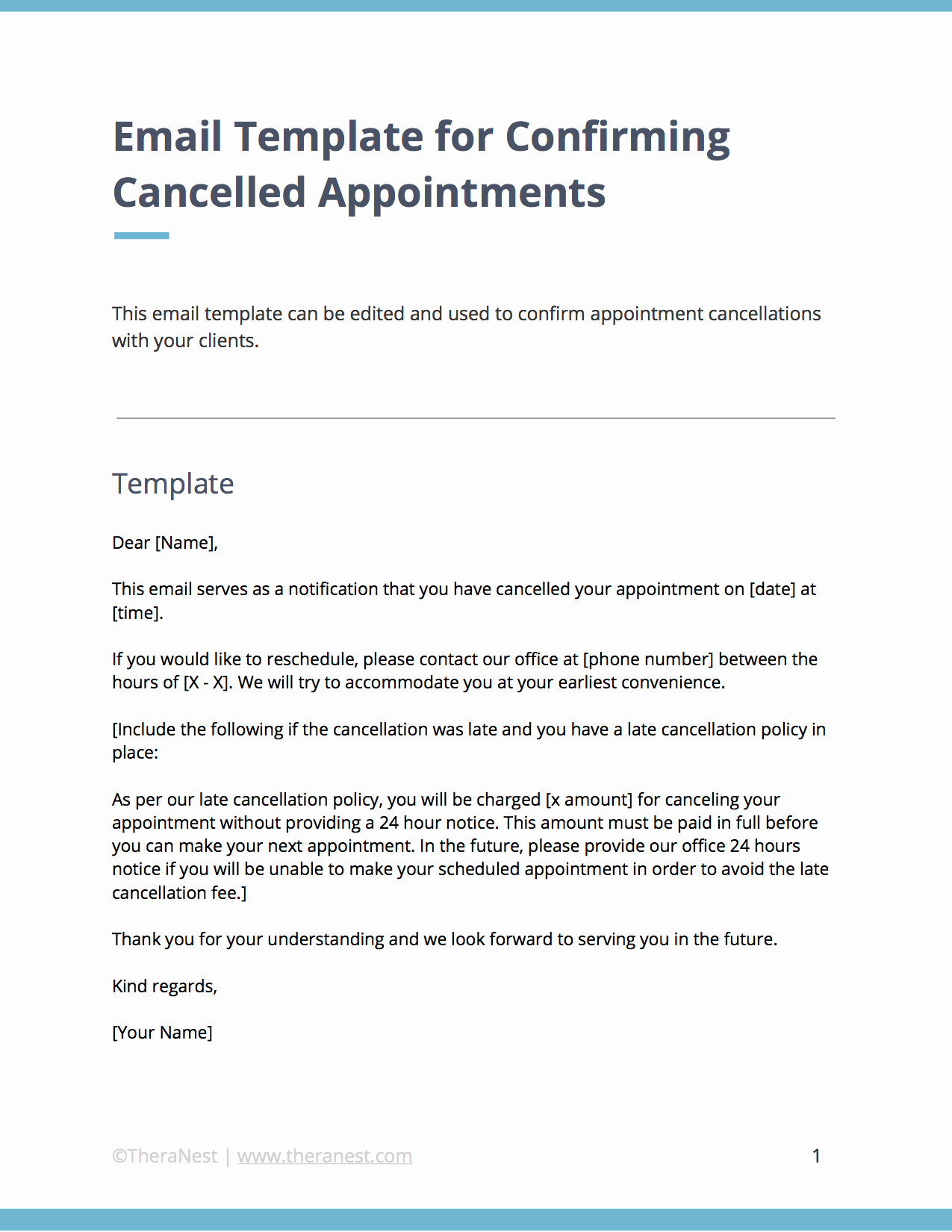 Appointment Confirmation Email Template Best Of Email Templates for Municating with Your therapy