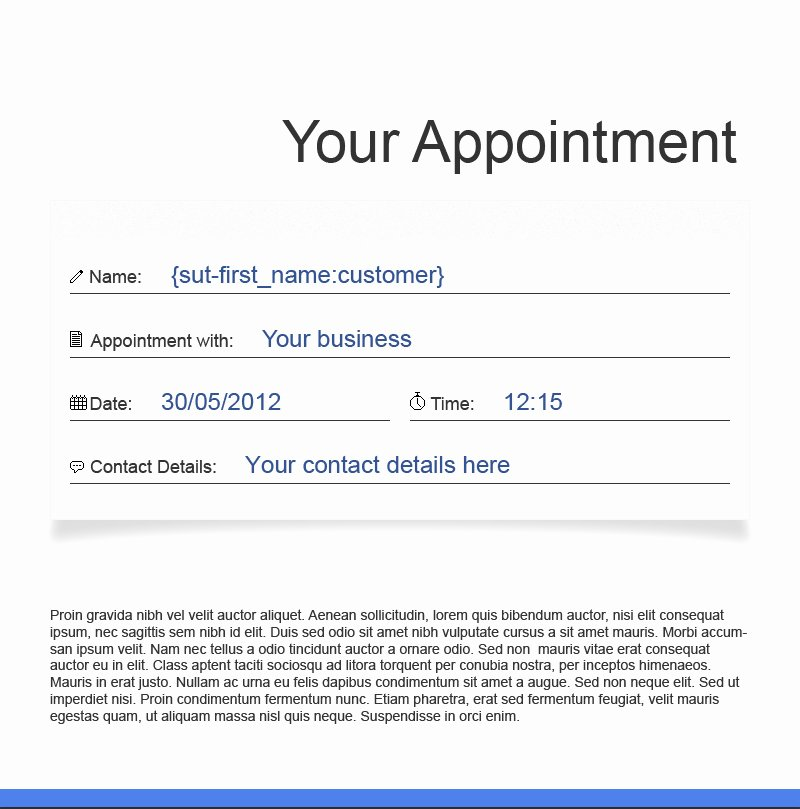 Appointment Confirmation Email Template Unique 13 Free Email Marketing Templates Have Just Arrived In