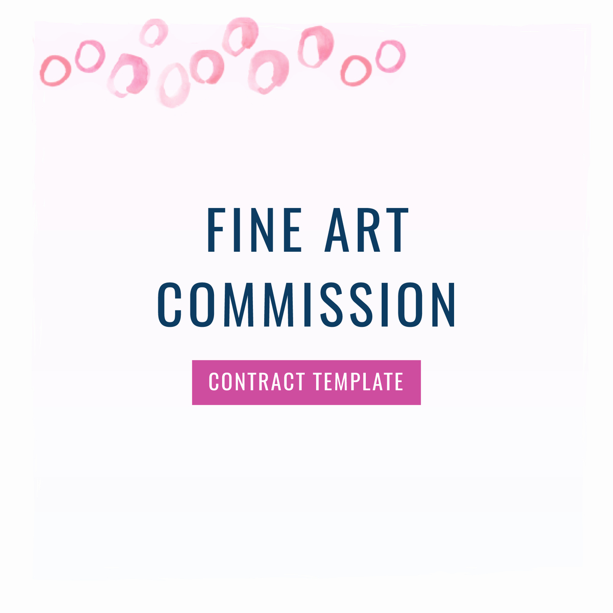 Art Commission Contract Template Beautiful Fine Art Mission Custom Painting Contract Template