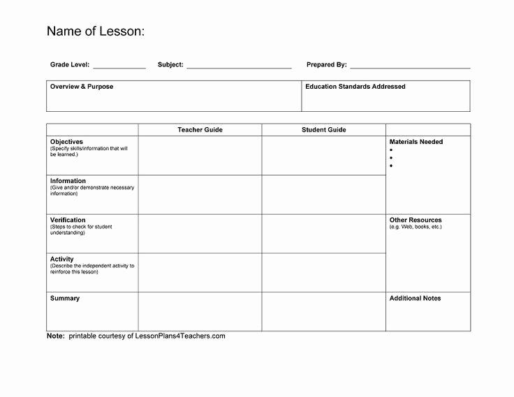 Art Lesson Plan Template Lovely Best 25 Blank Lesson Plan Template Ideas On Pinterest