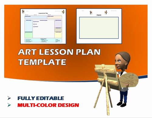 Art Lesson Plans Template Best Of Lesson Plan Template Art Editable by Ejpc2222