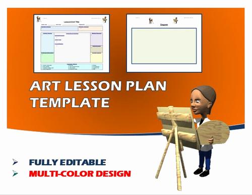 Art Lesson Plans Template Best Of Lesson Plan Template Art Editable by Ejpc2222