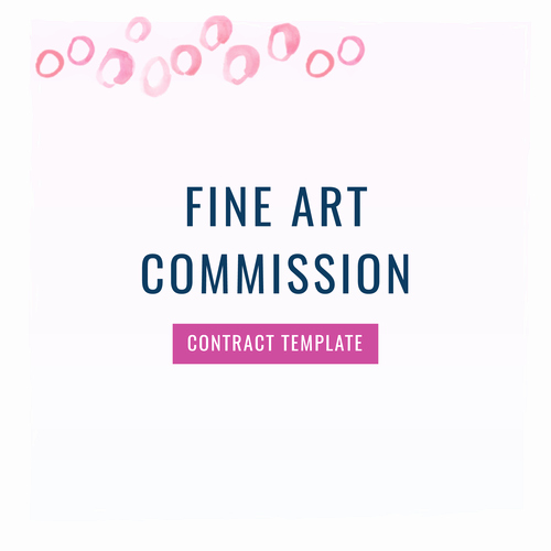Artist Commission Contract Template Awesome Entrepreneurs the Contract Shop