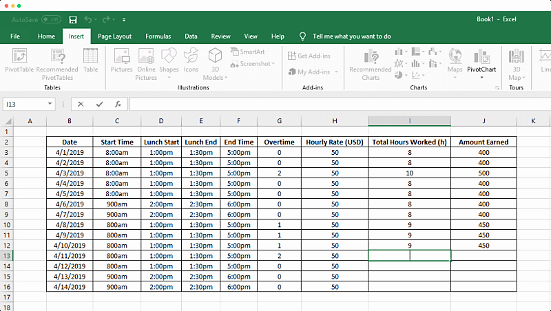 Attorney Billing Timesheet Templates Inspirational How to Track Time In A Spreadsheet Clockify