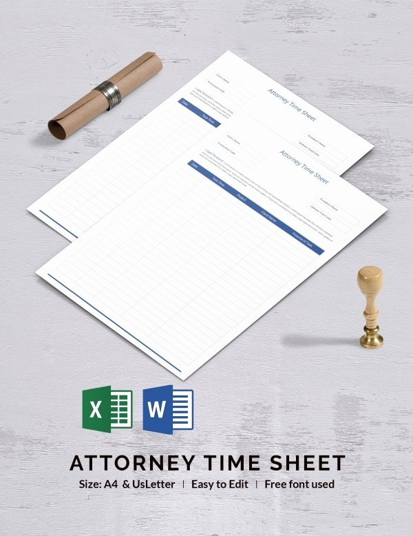 Attorney Billing Timesheet Templates Lovely 34 Timesheet Templates Free Excel Doc Pdf Download