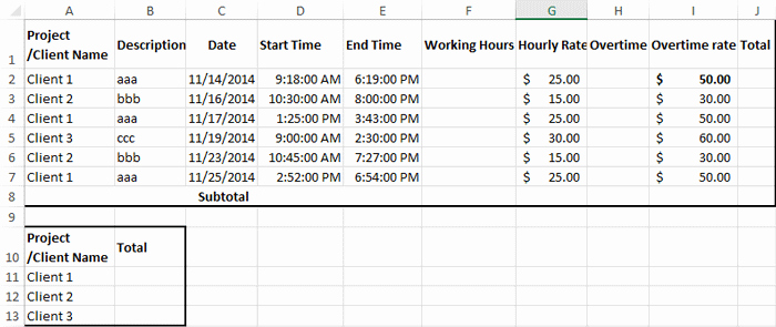 Attorney Billing Timesheet Templates Lovely How to Create Billable Hours Template In Excel