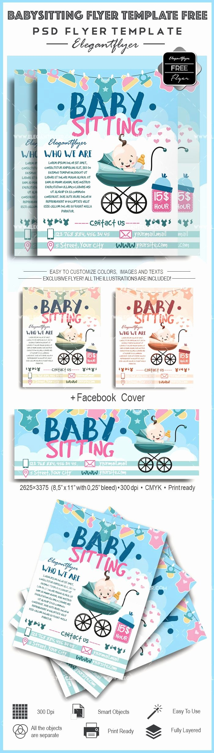 Babysitting Flyer Templates Free Lovely Best 20 Babysitting Flyers Ideas On Pinterest