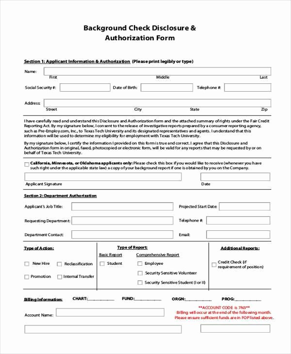 Background Check Authorization form Template New Best 65 What Background Checks Do Employers Use – Mega