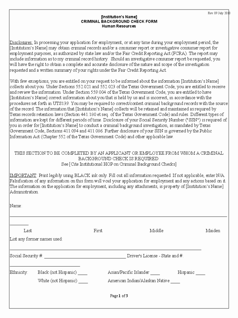 Background Check form Template Free Beautiful Background Check form 3 Free Templates In Pdf Word