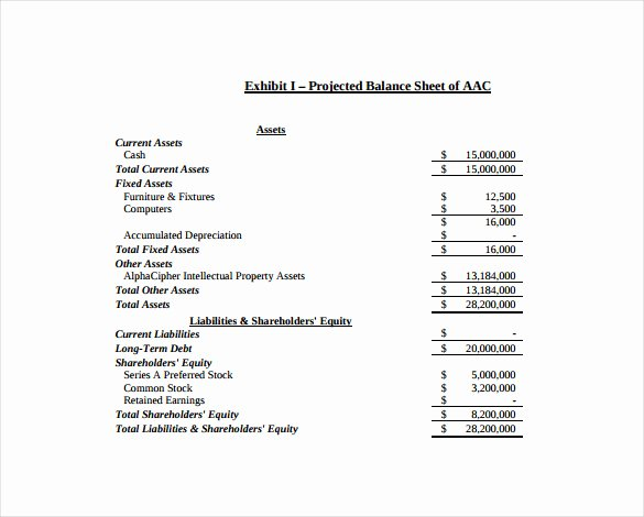 Balance Sheet Template Word Beautiful Balance Sheet Templates 18 Free Word Excel Pdf