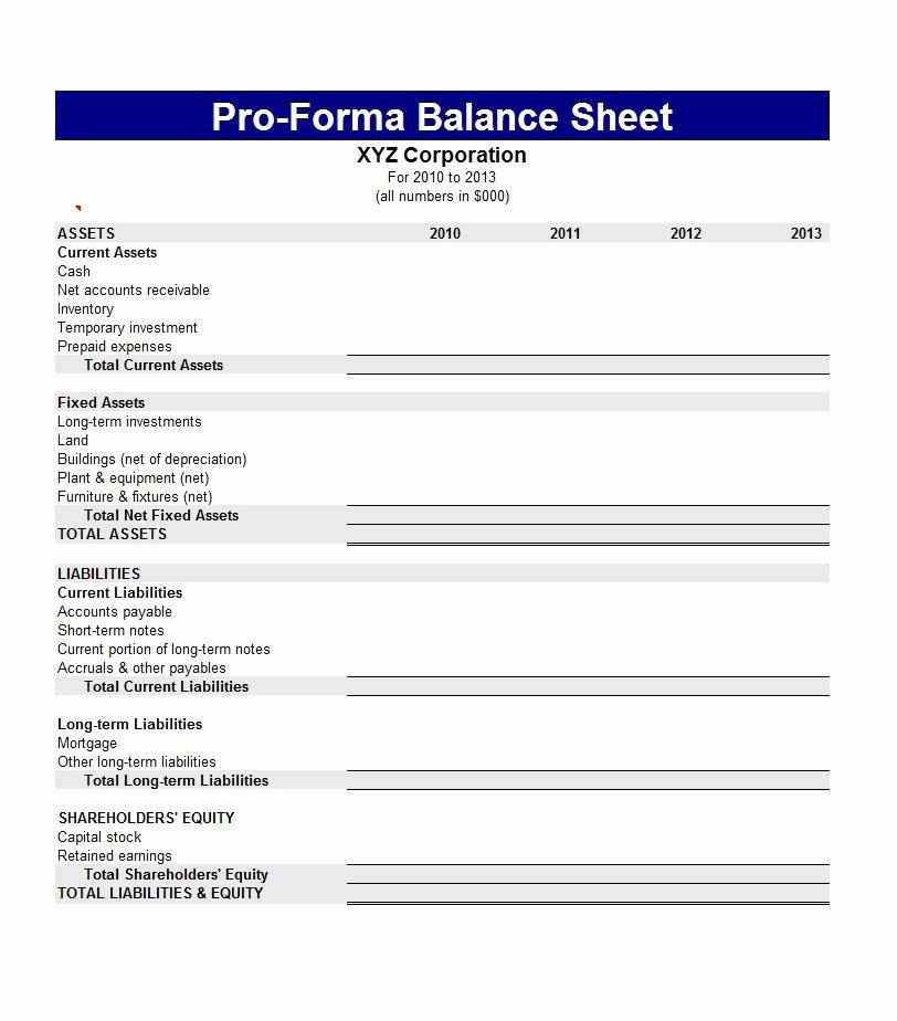 Balance Sheet Template Word Elegant 9 Balance Sheet Templates Word Excel & Pdf