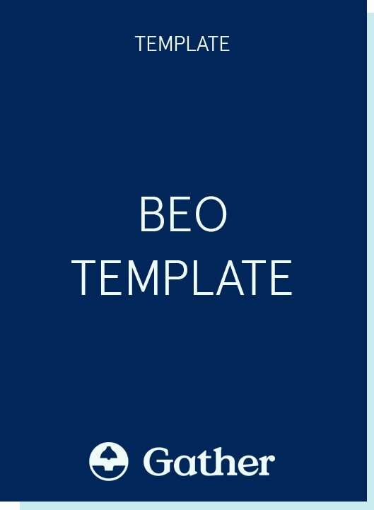 Banquet event order Template Inspirational Beo Template Download Our Free Banquet event order