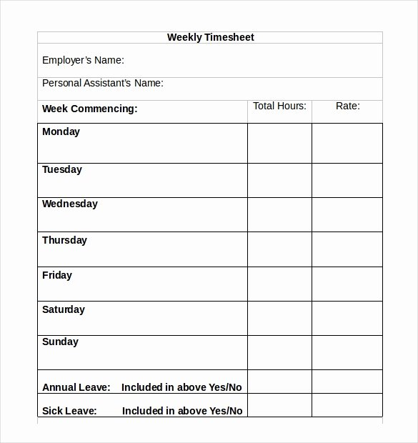 Basic Monthly Timesheet Template Unique Simple Weekly Timesheet Template Missionconvergence