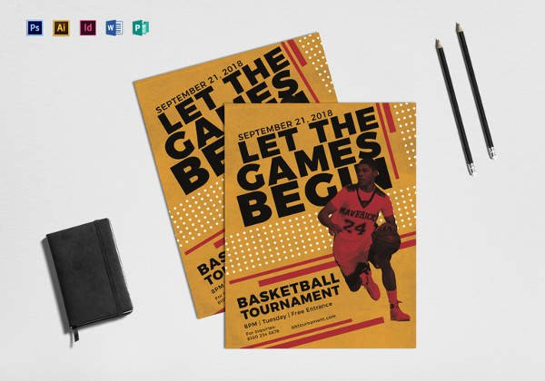 Basketball Camp Flyer Template Elegant Basketball Flyer Template 24 Download Documents In Pdf
