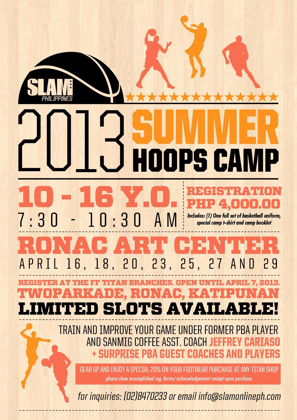 Basketball Camp Flyer Template Elegant Slam 2013 Summer Hoops Camp